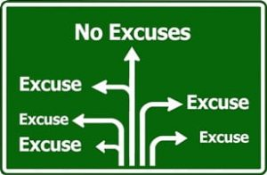 overcoming excuses