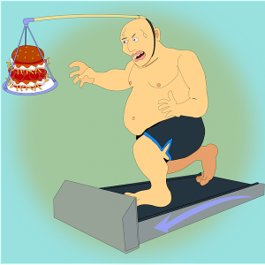 Exercise keeps weight off