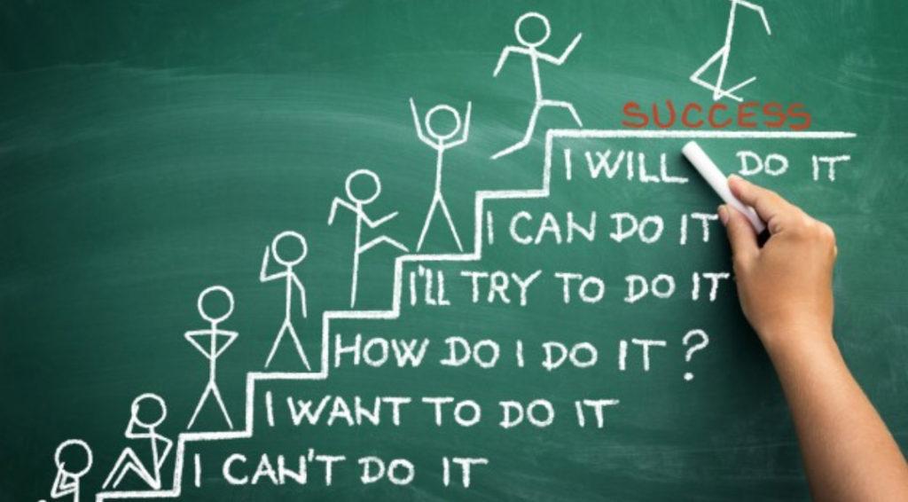 steps to achieve success